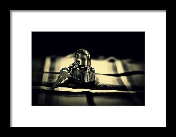 Key Framed Print featuring the photograph Freedom by Ammar Ibrahim