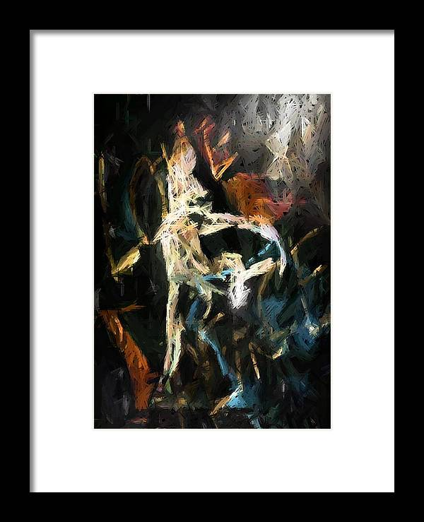 Framed Print featuring the digital art Freedom by Ginger Egerton