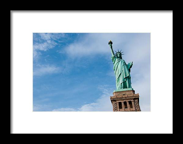 Statue Of Liberty Framed Print featuring the photograph Freedom by Heidi Reyher