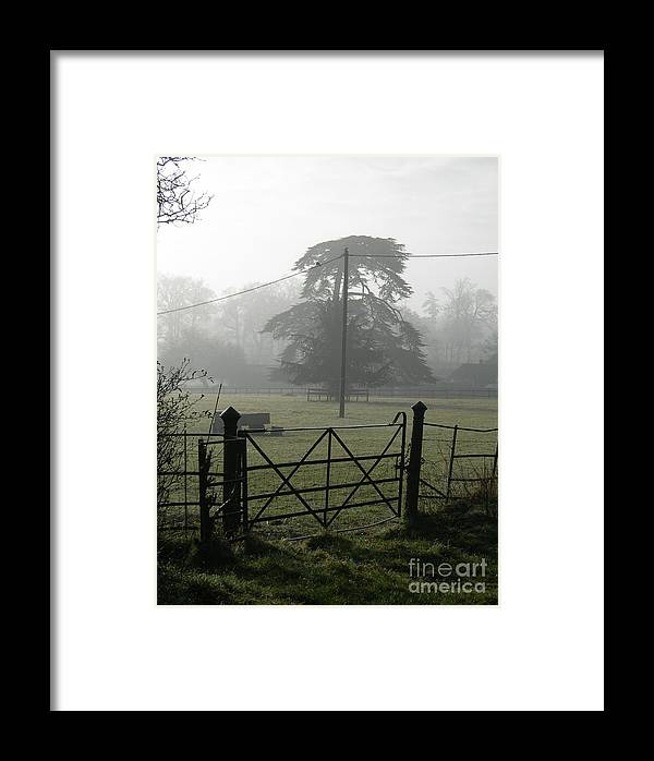 Landscape Framed Print featuring the photograph Frosty Morning by Robert Harris