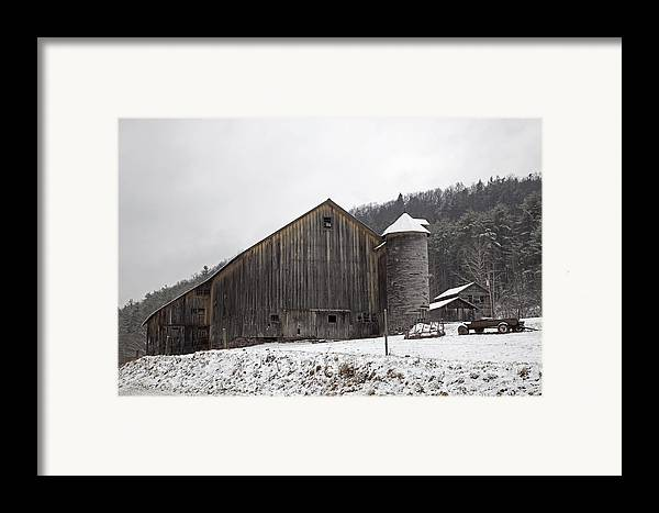 Tin Framed Print featuring the photograph Frozen In Time by John Stephens