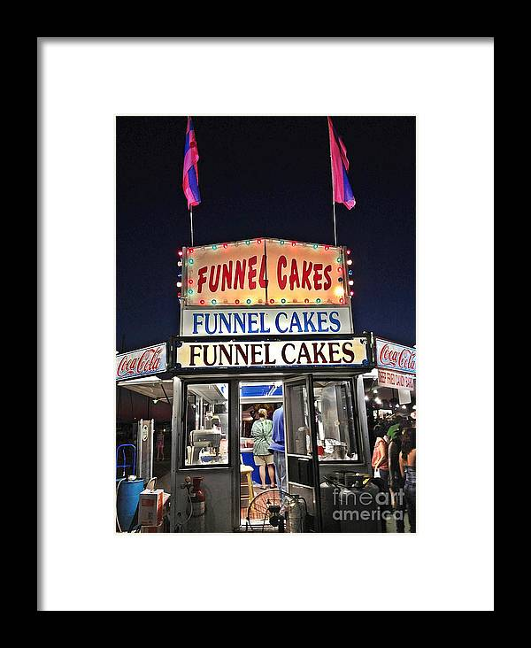 Festival Framed Print featuring the photograph Funnel Cakes by Joan Meyland