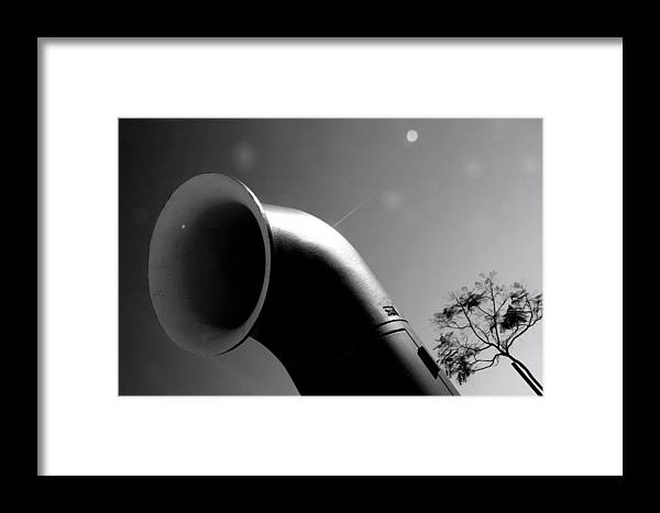 Jezcself Framed Print featuring the photograph Funnel Me by Jez C Self
