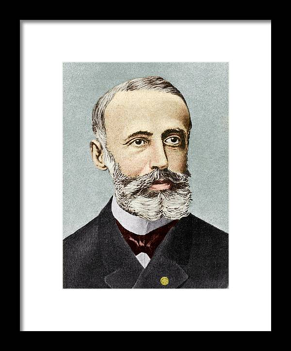 Gaston Plante Framed Print featuring the photograph Gaston Plante, French Physicist by Sheila Terry