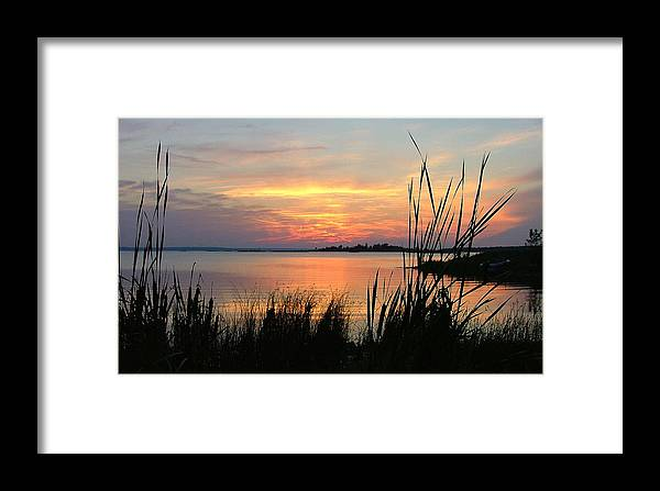 Sunset Framed Print featuring the photograph Gentle Twilight by Don Downer