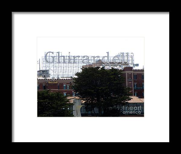Ghirardelli Framed Print featuring the photograph Ghirardelli by Serena Ballard