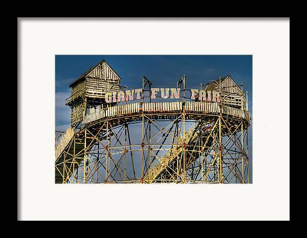 Fair Framed Print featuring the photograph Giant Fun Fair by Adrian Evans