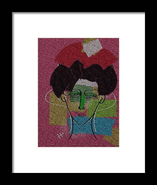 Digital Painting Framed Print featuring the digital art Ginkgo Biloba by Hayrettin Karaerkek