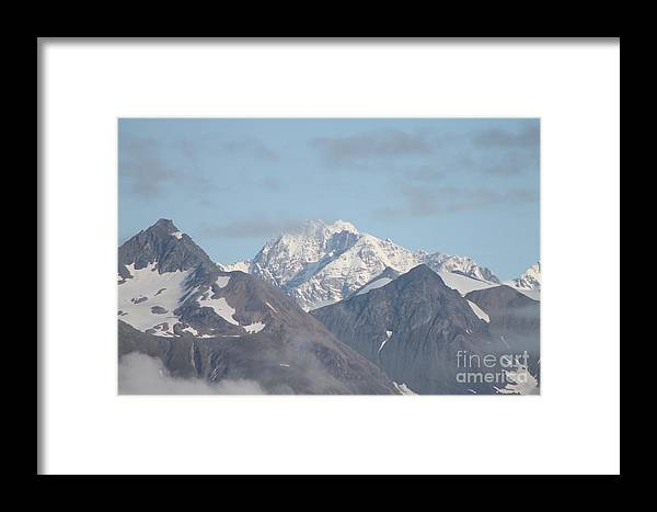 Glacier Bay Framed Print featuring the photograph Glacier Bay 4 by Pamela Walrath