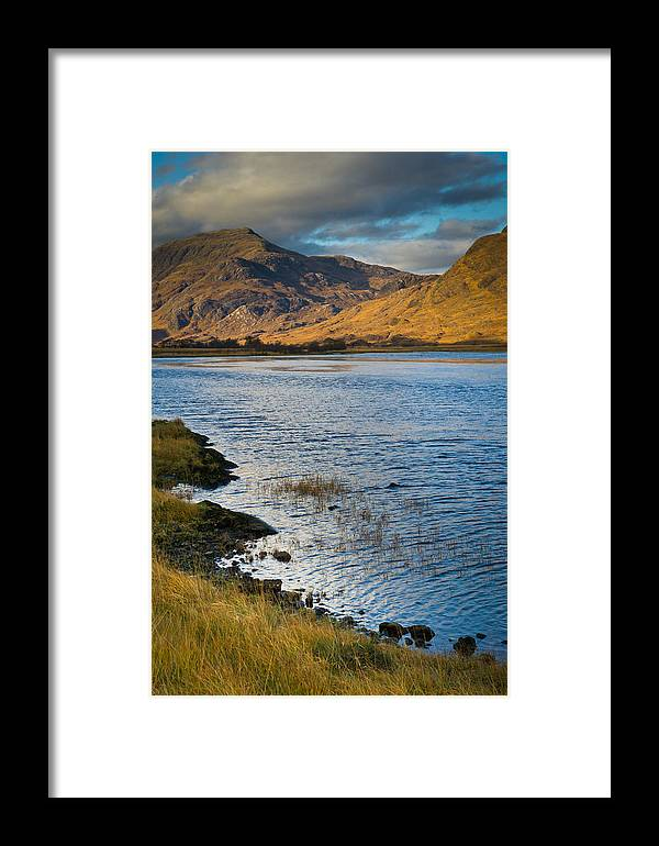 Glen Gour Framed Print featuring the photograph Glen Gour View by Gary Eason
