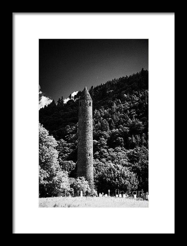 Glendalough Framed Print featuring the photograph Glendalough Ireland by Joe Fox