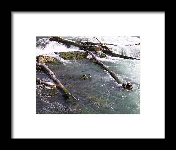 River Framed Print featuring the photograph Go With The Flow by Naomi Rogers