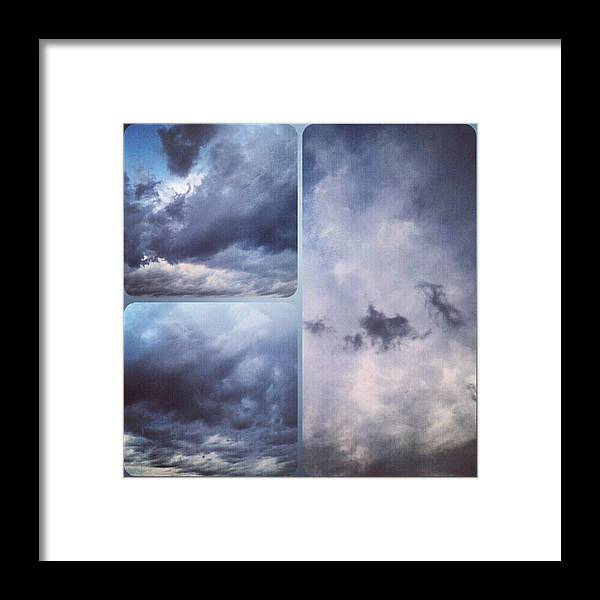 Andrography Framed Print featuring the photograph God Is The Ultimate Painter... #nature by Kel Hill