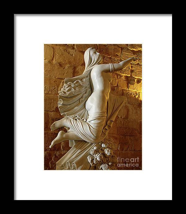 Statue Framed Print featuring the photograph Goddess 2 by Denise Wilkins