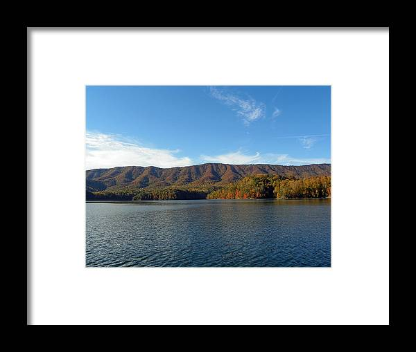 Mountians Framed Print featuring the photograph God's Country by Brenda Donko