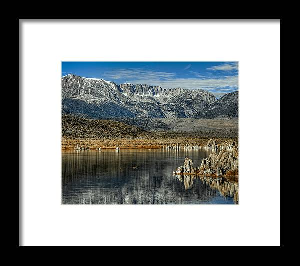 Hdr Framed Print featuring the photograph Gods Country by Stephen Campbell
