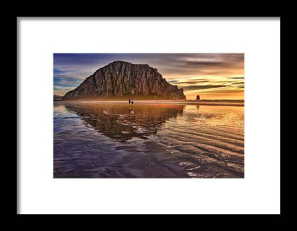 Sunset Framed Print featuring the photograph Golden Sunset by Beth Sargent