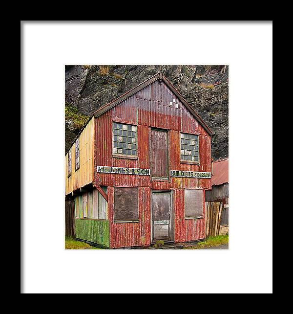 Shed Framed Print featuring the photograph Gone Fishin . . . . by Barry Hayton