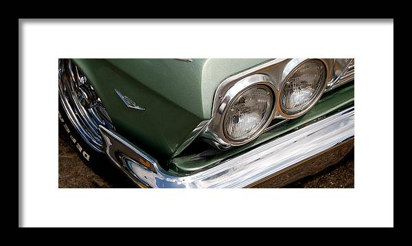 Hot Rod Framed Print featuring the photograph Gone Green by Gabe Arroyo