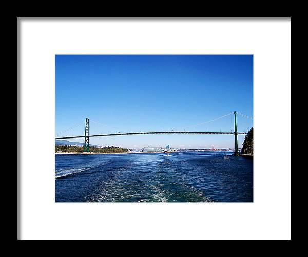 Vancouver Framed Print featuring the photograph Goodby Vancouver by Judy Wanamaker
