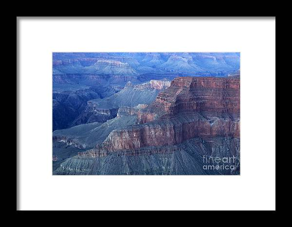 Grand Canyon Framed Print featuring the photograph Grand Canyon Grandeur by Bob Christopher