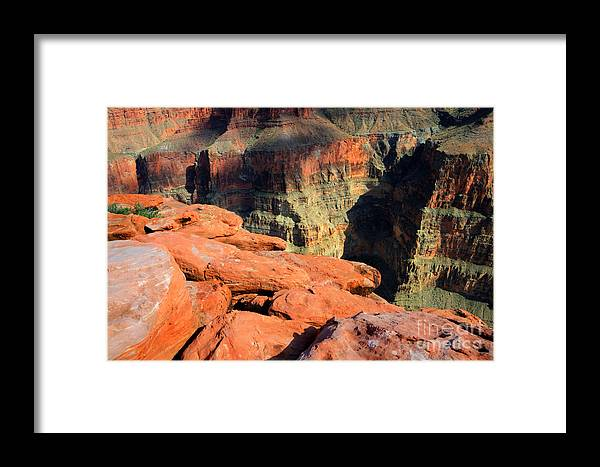 Grand Canyon Framed Print featuring the photograph Grand Canyon North Rim by Bob Christopher