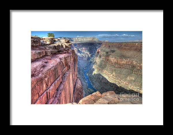 Grand Canyon Framed Print featuring the photograph Grand Canyon Toroweap Vista by Bob Christopher