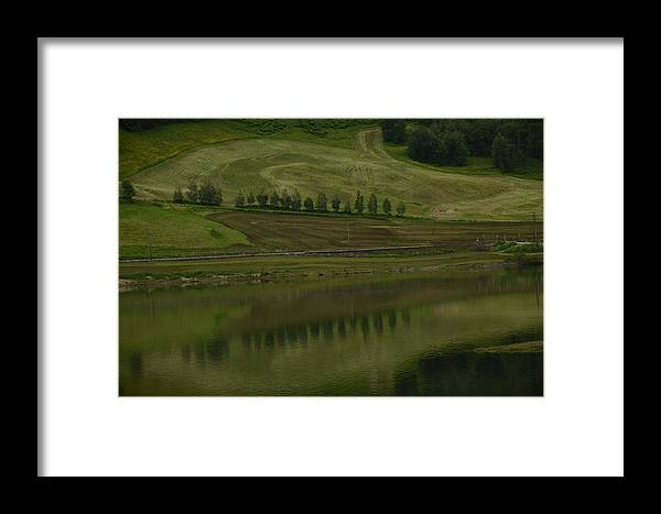 Landscape Framed Print featuring the photograph Greens by Alexandra Oancea