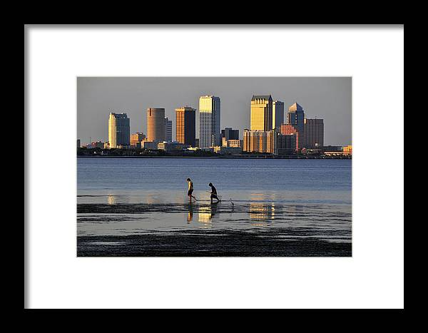 Fine Art Photography Framed Print featuring the photograph Growing Up Tampa Bay by David Lee Thompson