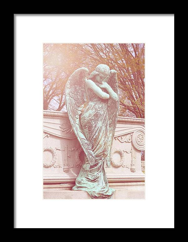 Angel Framed Print featuring the photograph Guardian Angel by Emilie Sullivan