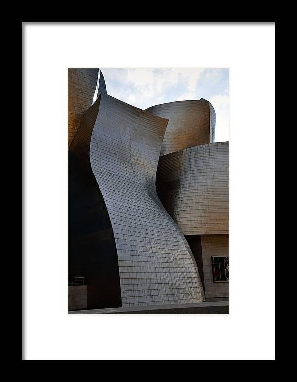 Guggenheim Framed Print featuring the photograph Guggenheim Museum Bilbao - 1 by RicardMN Photography