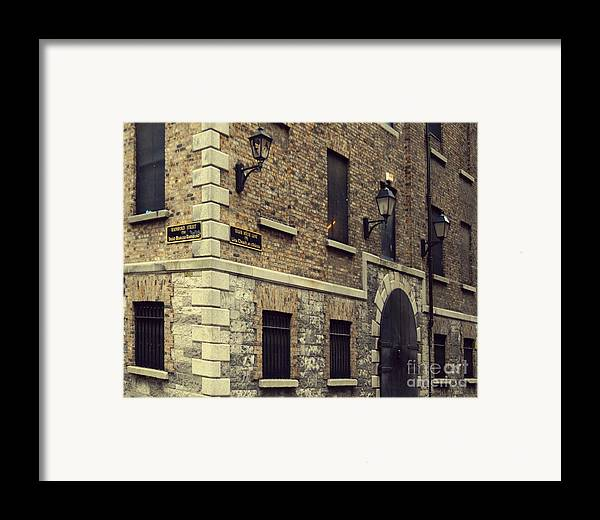Dublin Framed Print featuring the pyrography Guinness Storehouse Dublin by Louise Fahy