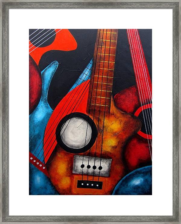 Guitar Framed Print By Fernando Garcia
