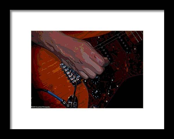 Guitar Framed Print featuring the photograph Guitar by Michael Merry