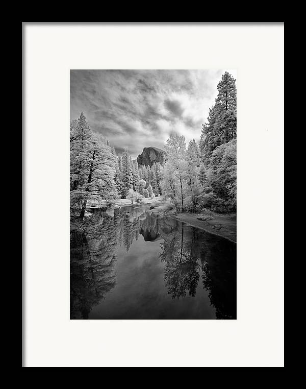 Vertical Framed Print featuring the photograph Half Dome by LiorDrZ© Photography
