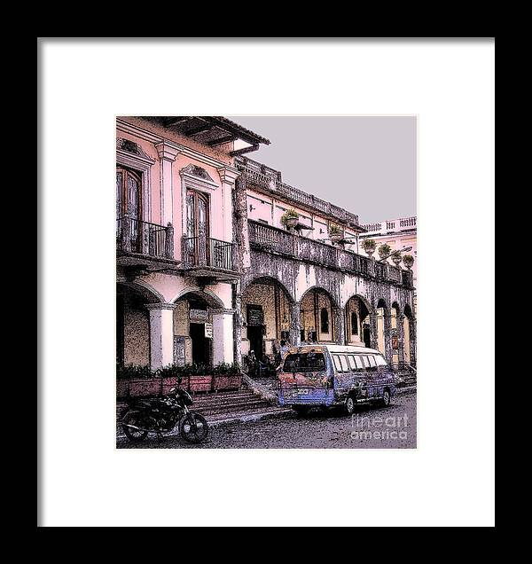 Granada Framed Print featuring the photograph Hanging Out In Granada by Lydia Holly