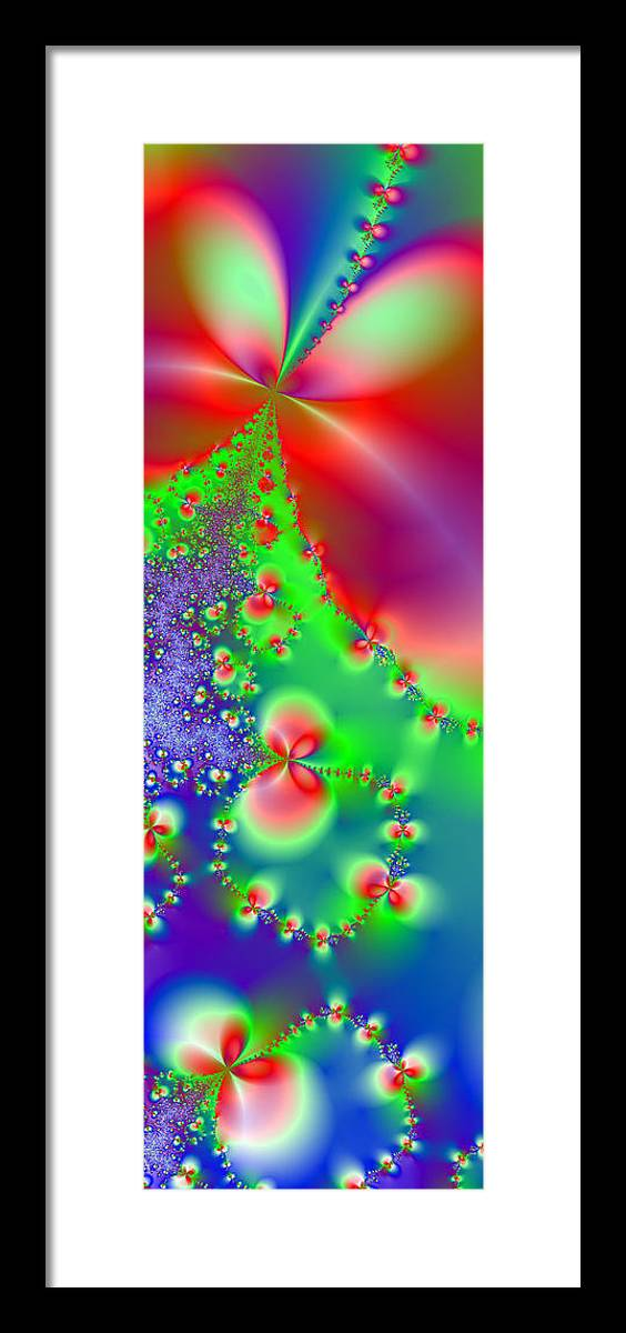 Happy Framed Print featuring the digital art Happiness by Ester Rogers