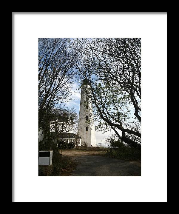 Lighthouse Framed Print featuring the photograph Harbor Lighthouse by Jessica Cruz