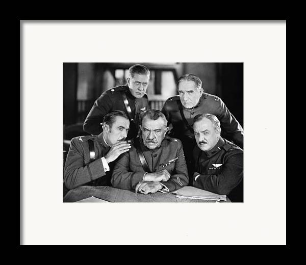 -ecq- Framed Print featuring the photograph Hard-boiled Haggerty, 1927 by Granger