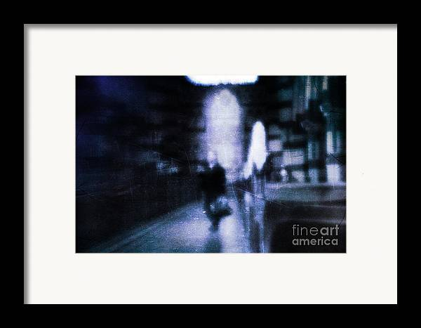 Blue Framed Print featuring the photograph Haunted by Andrew Paranavitana