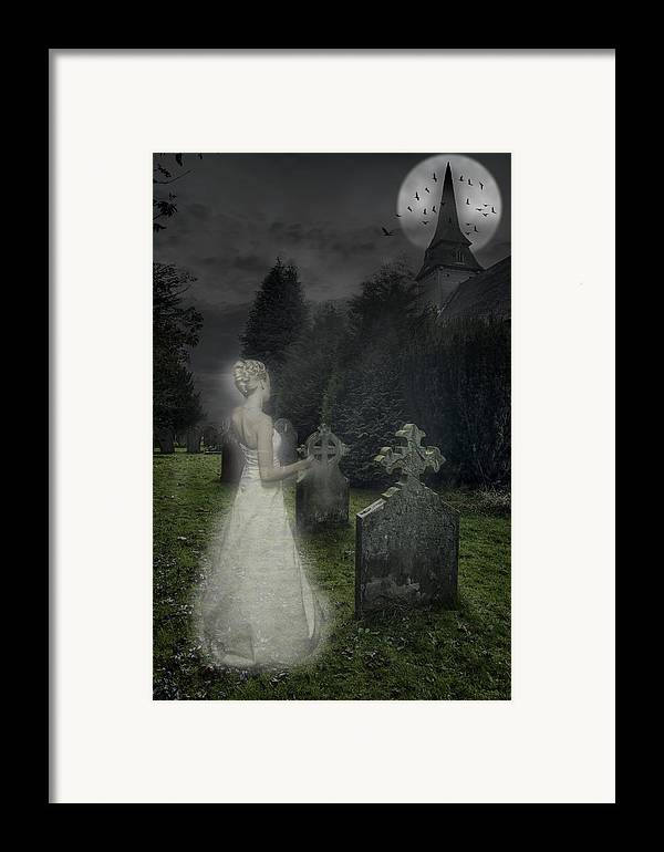 Haunted Framed Print featuring the photograph Haunting by Amanda Elwell