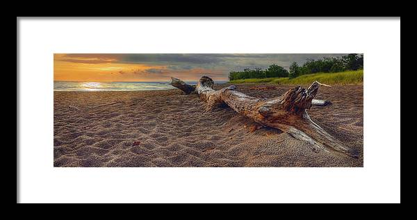 Hdr Framed Print featuring the photograph Have A Seat by Brian Fisher