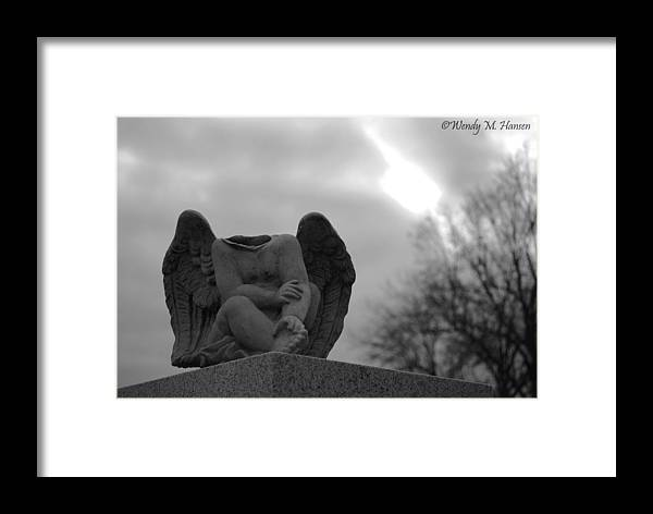 Angel Framed Print featuring the photograph Headless Angel by Wendy Hansen-Penman