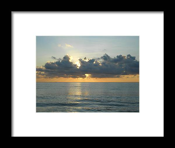 Sunrise Framed Print featuring the photograph Healing Waters by Sheila Silverstein