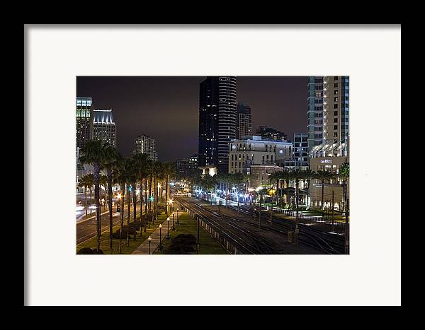 City Framed Print featuring the photograph Heart Of The City by Benjamin Street