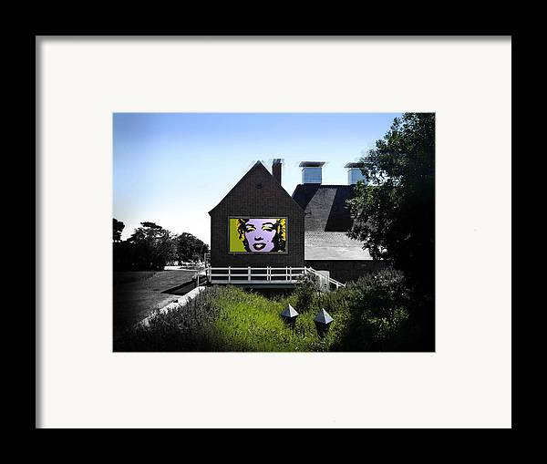 Marilyn Framed Print featuring the photograph Heatwave by Charles Stuart