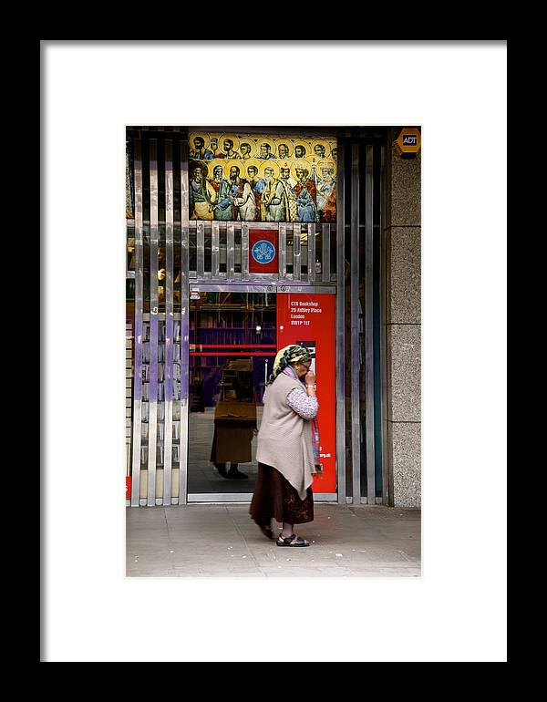 Jezcself Framed Print featuring the photograph Heaven Protect Me by Jez C Self