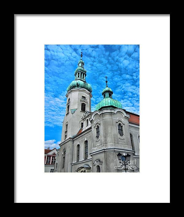 Heavenly Blues Framed Print featuring the photograph Heavenly Blues by Mariola Bitner