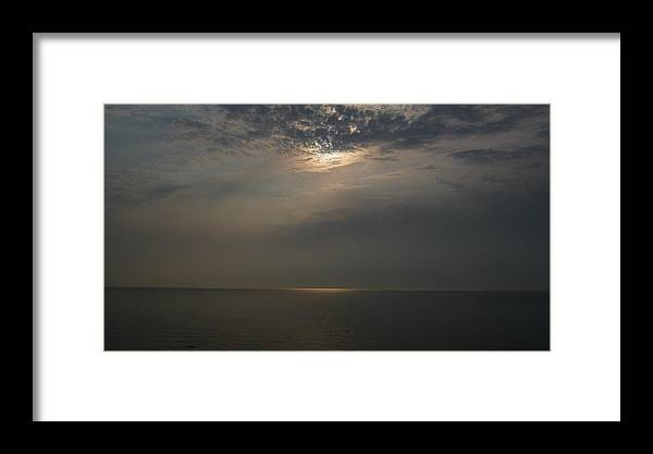 Clouds Framed Print featuring the photograph Heaven's Light by Michael Carrothers