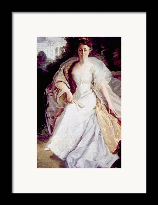 First Lady Framed Print featuring the photograph Helen Taft 1861-1943, First Lady by Everett